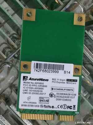 WTS]Laptop wifi wireless card pci-e combo card
