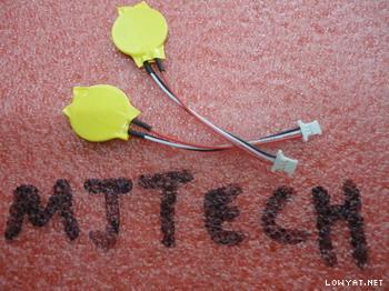 WTS] RTC bios battery 2 pin 3 pin 3v 2 4v 7 2v