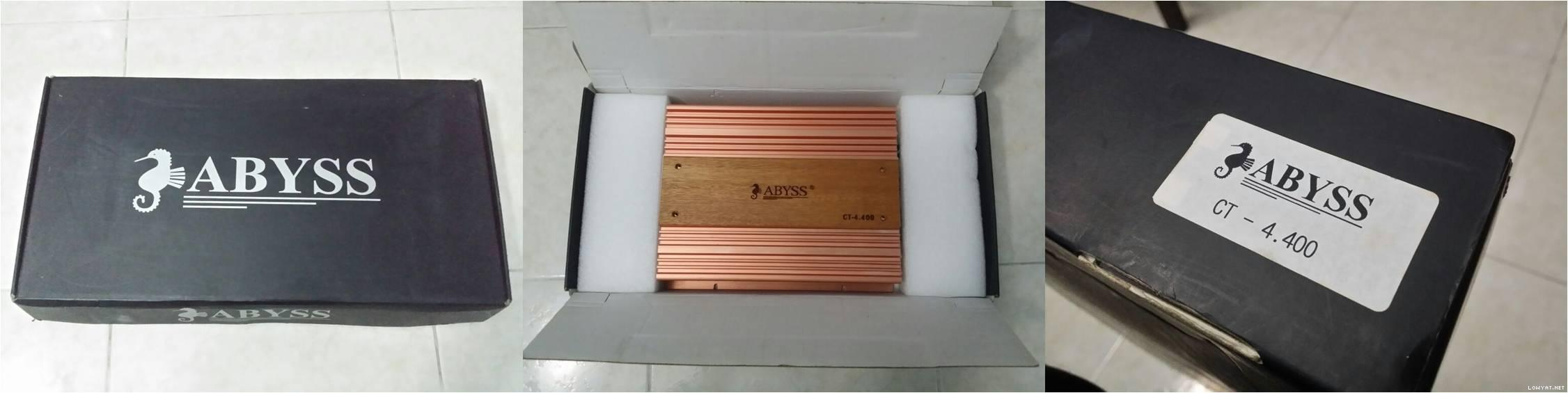 """[WTS] Abyss CT4.400 4-Ch Amplifier """"Dynamic SQ Amp (4 x 90W RMS)"""" Post-237488-1413338348"""