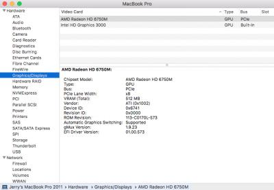 WTS] MacBook Pro 15-inch late 2011