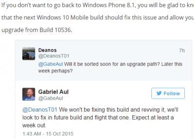 Windows 10 for Phone